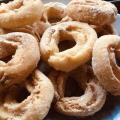 米粉のドーナツ